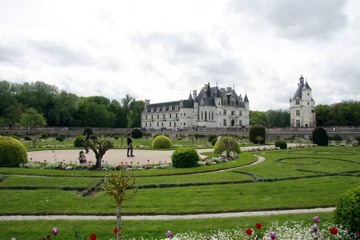 Het kasteel van Chenonceau