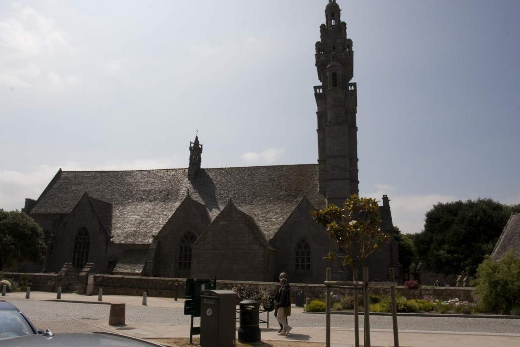 De kerk van Roscoff