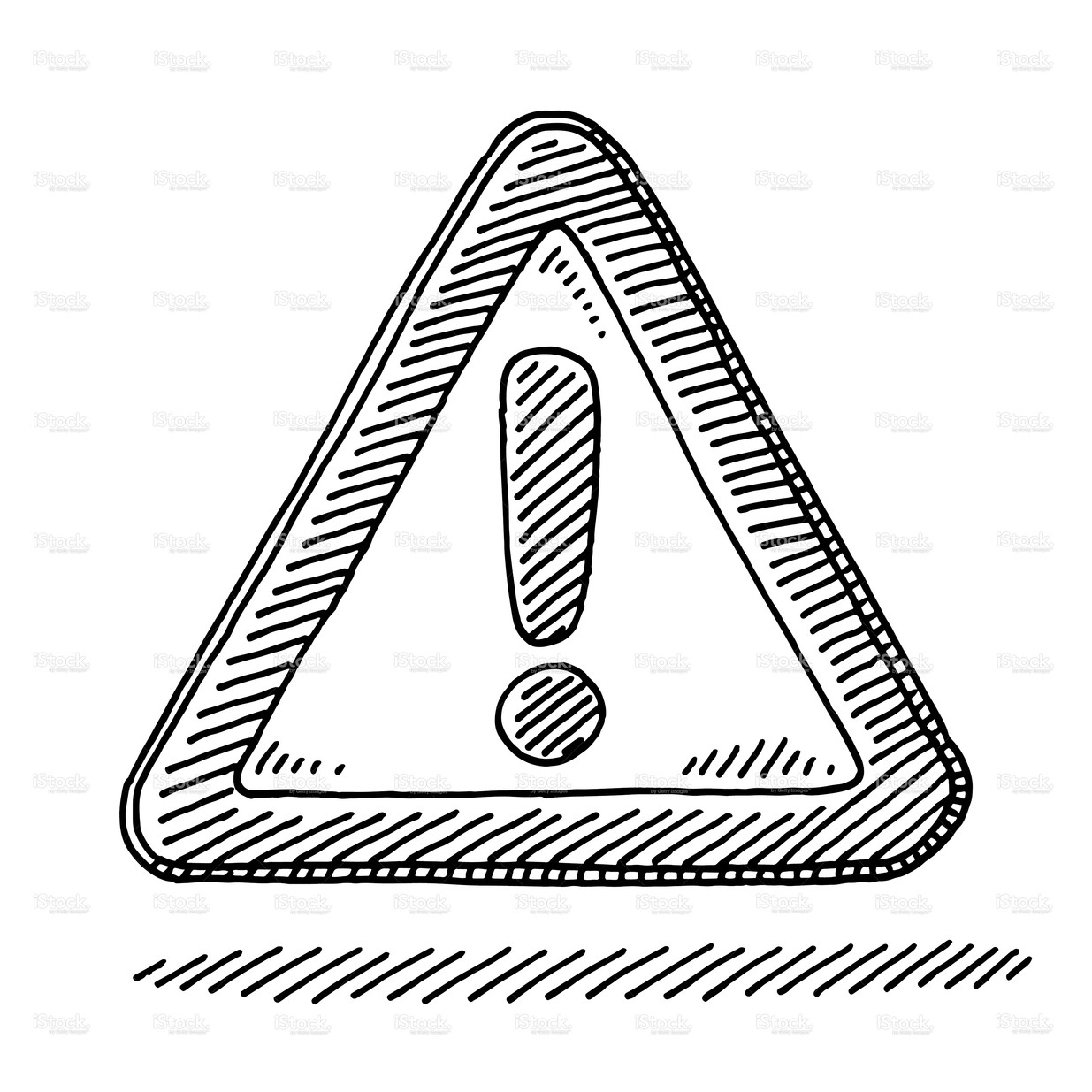 Stock Illustration Exclamation Mark Attention