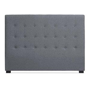 Intense Déco – Tête de lit capitonnée Premium Tissu 160cm Gris