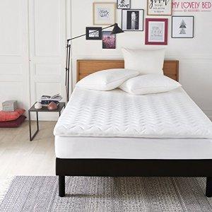 My Lovely Bed – SurMatelas Mémoire de Forme 180×200 cm – Epaisseur 7cm – Déhoussable – Mousse Viscoélastique Haute densité – Qualité Hôtellerie