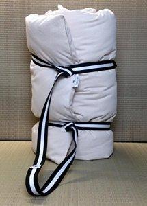 Futon en pur coton de voyage, de massage, pour Yoga, transportable. Mesures 140 x 200 cm