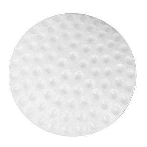 5lightrich Tapis de Coussin Anti-Collision en Caoutchouc de Porte à la Maison de Porte Serrure Anti-Collision Tapis Protecteur muet en Caoutchouc White