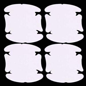 EdBerk74 4 Feuilles Adhérente Poignée De Porte De Voiture Rayures Garde Film Protecteur Invisible Durable Et Transparent