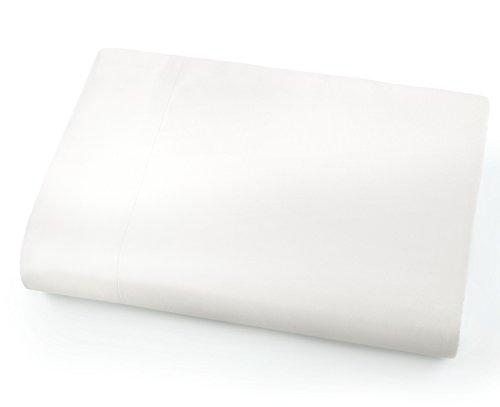 Southshore Fine Linens–surdimensionné draps Plats Extra Large–335,3x 279,4cm, Microfibre, Bright White, King