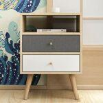 YY NOUVELLE TABLE DE LOIT SIMPLE MOYEN MODERIQUE Casier de stockage Nordic Économique Chambre à coucher Petite Mini Simple Storage Cabinet (Color : Sparks Fy 2)