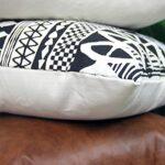 ZOUD Taie d'oreiller sophistiquée avec Points Fins Fermeture à glissière Lisse Taie d'oreiller légère pour canapé Installation d'oreiller Facile Housses de Coussin Ferme