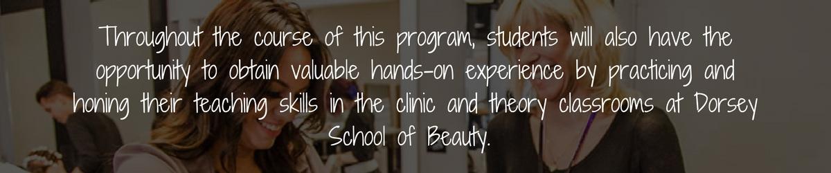 Cosmetology Instructor Program Michigan Career Training