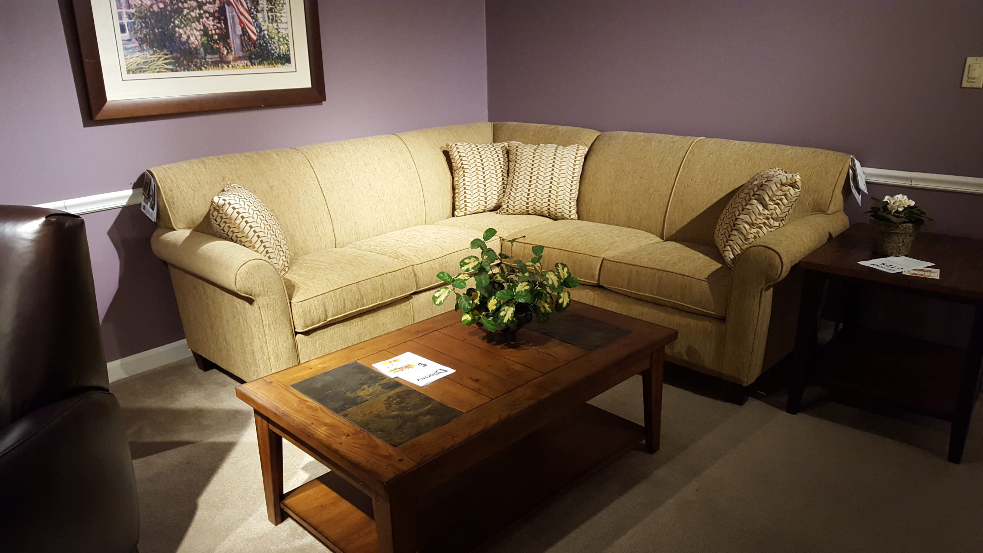 Flexsteel 5990 Sectional Furniture Store Bangor Maine