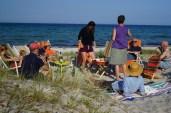 Drinks på stranden eller på en af terasserne springes sjældent over