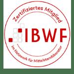 IBWF zertifiziert