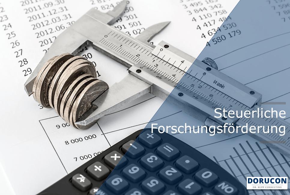 Steuerliche Forschungsförderung. Alle Infos und Beratung durch zertifizierte Berater bei DORUCON.