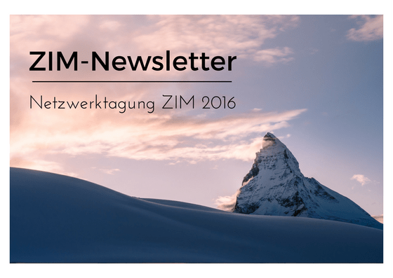 ZIM-Newsletter, Bloggrafik