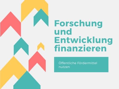Finanzierung Forschung und Entwicklung