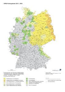 GRW Fördergebietskarte 2014 -2021 DORUCON