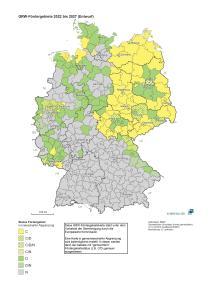 GRW Fördergebiete ab 2022 DORUCON
