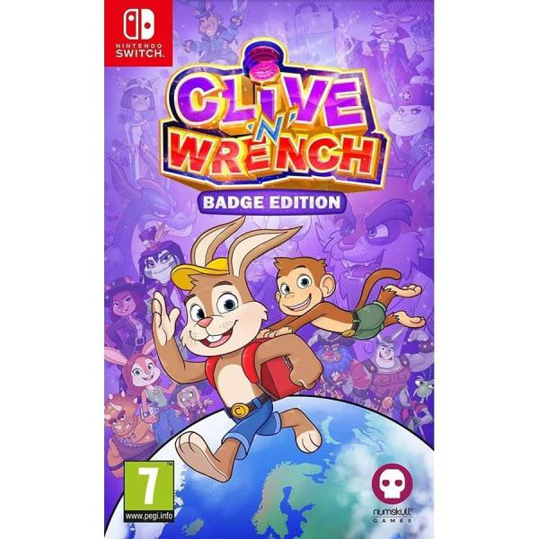 Clive 'N' Wrench Badge Edition Nintendo Switch