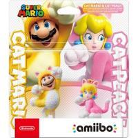 Amiibo Kat Mario & Kat Peach Super Mario Collection