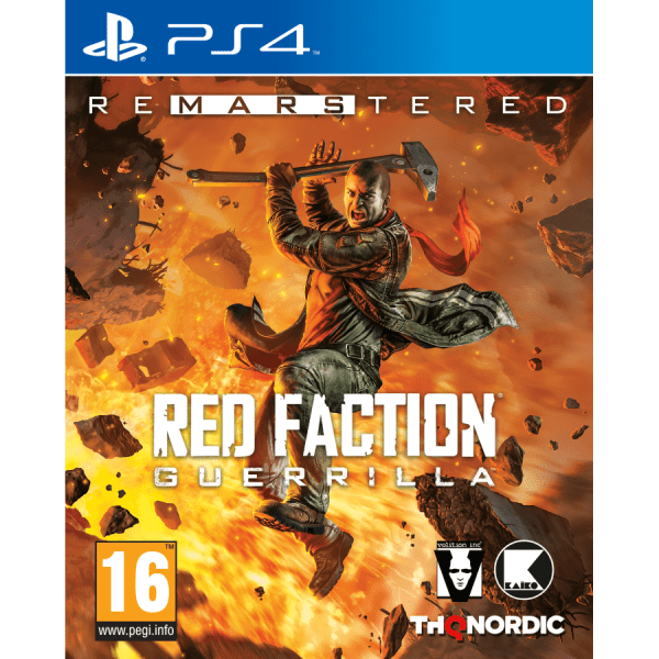 Red Faction: Guerrilla Re-Mars-tered PS4