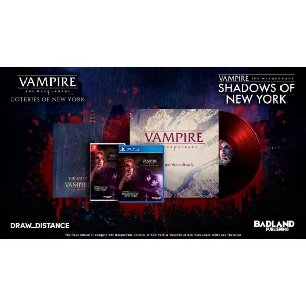 Vampire The Mascarade Coteries of New York + Shadows of New York Collector's Edition Nintendo Switch