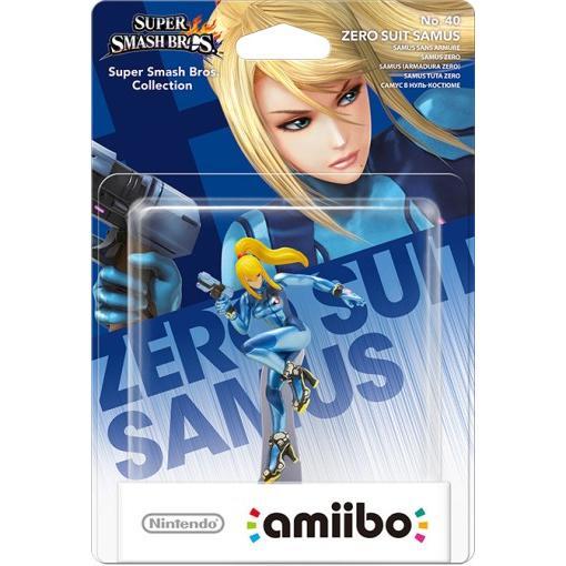 Amiibo Zero Suit Samus Super Smash Bros. Collection 40