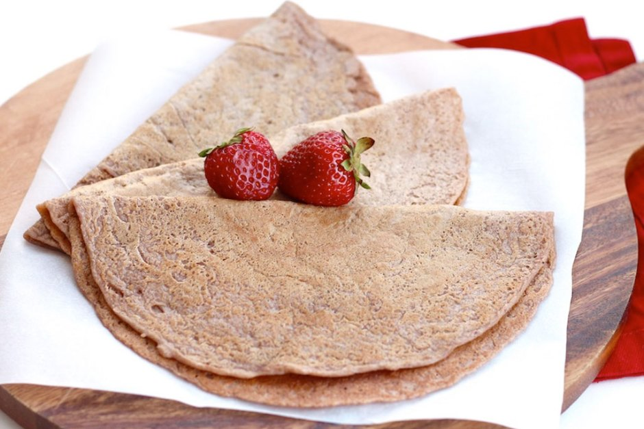Strawberry Banana Dosa