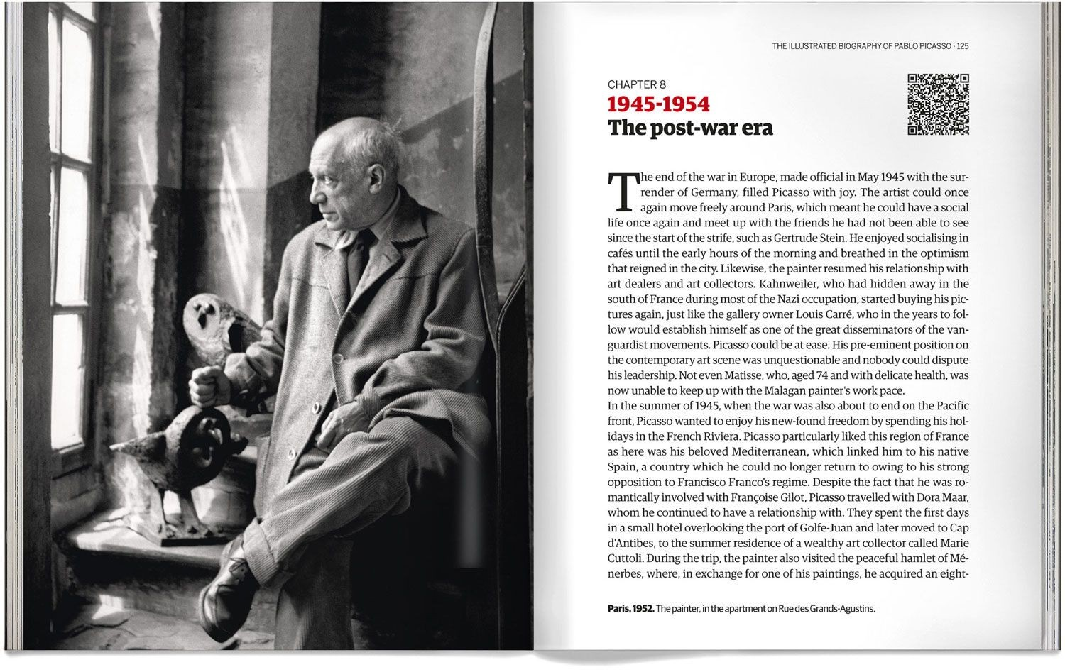 The Illustrated Biography Of Pablo Picasso Book