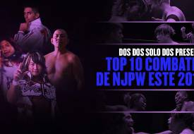 Top 10: mejores combates de NJPW en el 2018