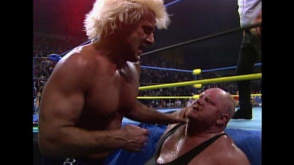Flair vs Vader en WCW.