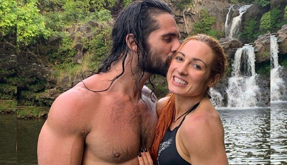 El especial regalo de Becky Lynch a Seth Rollins