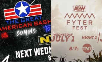 The Great American Bash vs Fyter Fest: NXT y AEW tiran toda la carne al asador