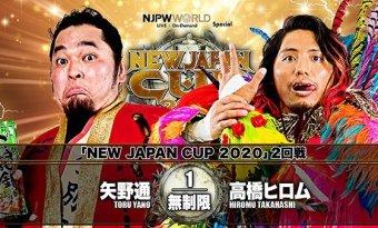 NJPW: Resultados día 5 New Japan Cup 2020