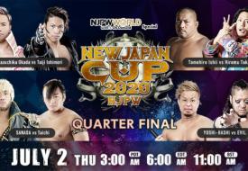 NJPW: Resultados día 6 y 7 New Japan Cup 2020