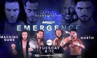 Resultados IMPACT Wrestling: Emergence (Noche 1)
