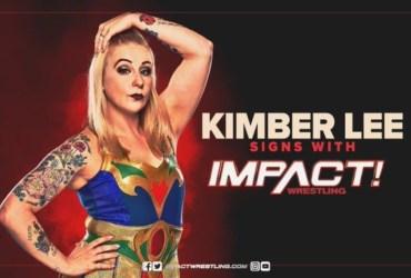 IMPACT firmó a la luchadora Kimber Lee