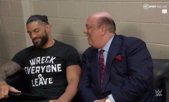 ¿Roman Reigns ahora es Paul Heyman Guy?