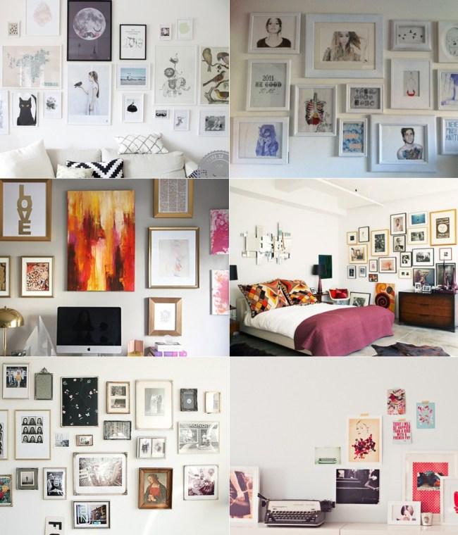 decoração-ideias-quadros