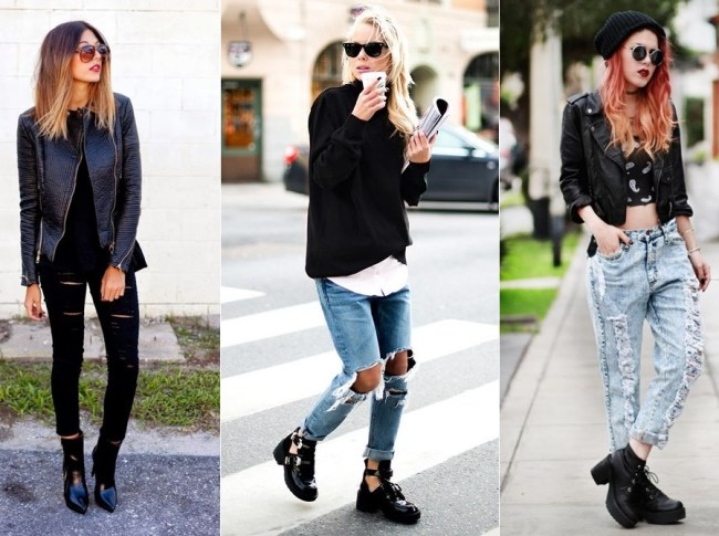 look-calça-jeans-destroyed-com-botas
