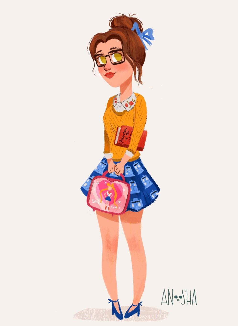 ilustração-anoosha-Bela