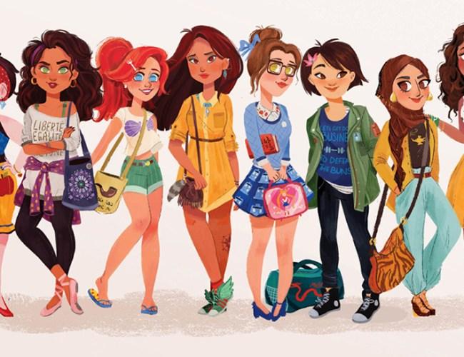 capa-anoosh-ilustracoes-princesas-da-disney