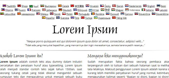 Apa itu Lorem Ipsum