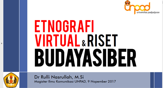 Etnografi Virtual [PPT]