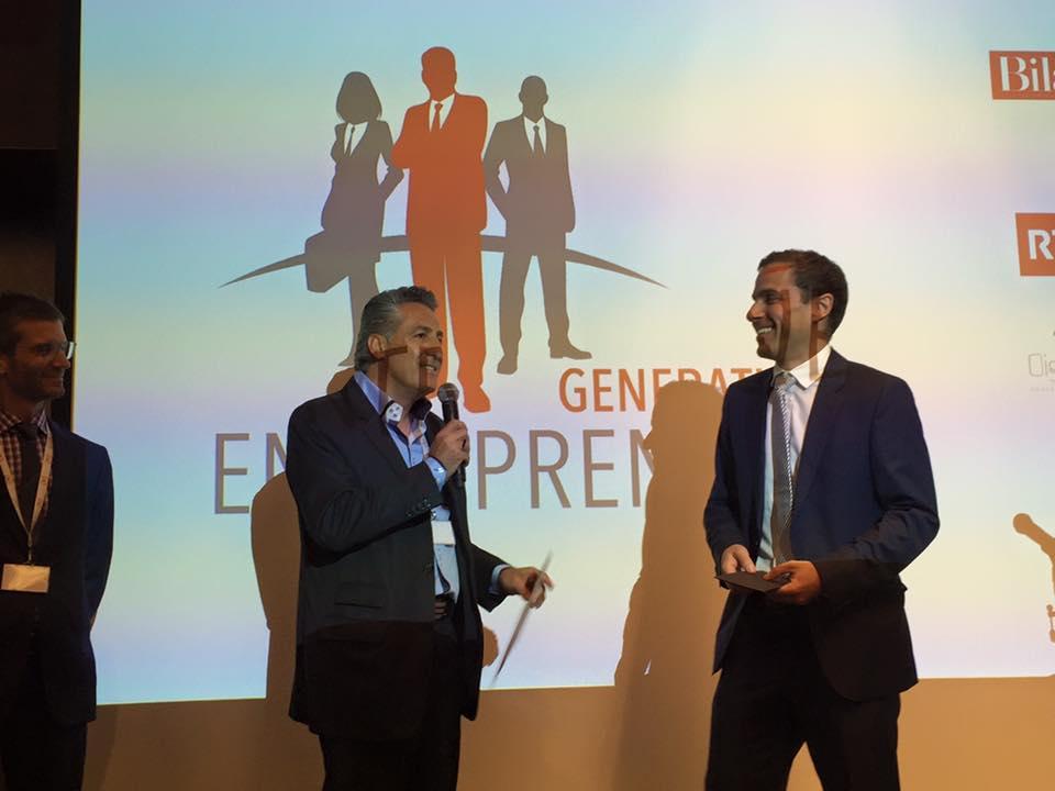 Prix Génération entrepreneur 2016