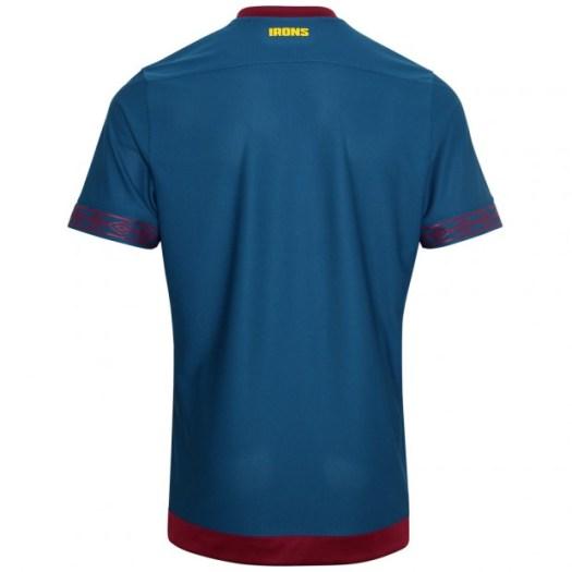 West Ham United 2018/19 Away Shirt Soccer Jersey ...