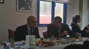 Dostluk Spor Ailese Kahvaltıda Belediye Başkanı İle Buluştu