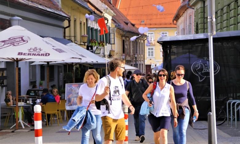 Festival sprehodov po Mariboru.