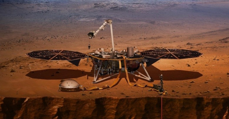 NASA Mars InSight rover, MARS,