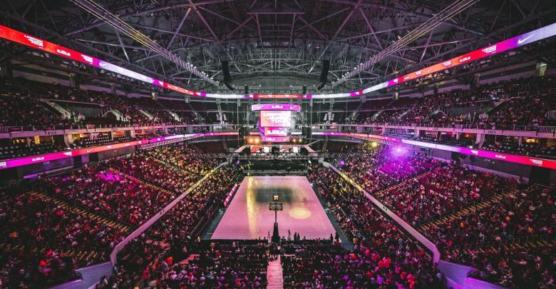 NBA dvorana.