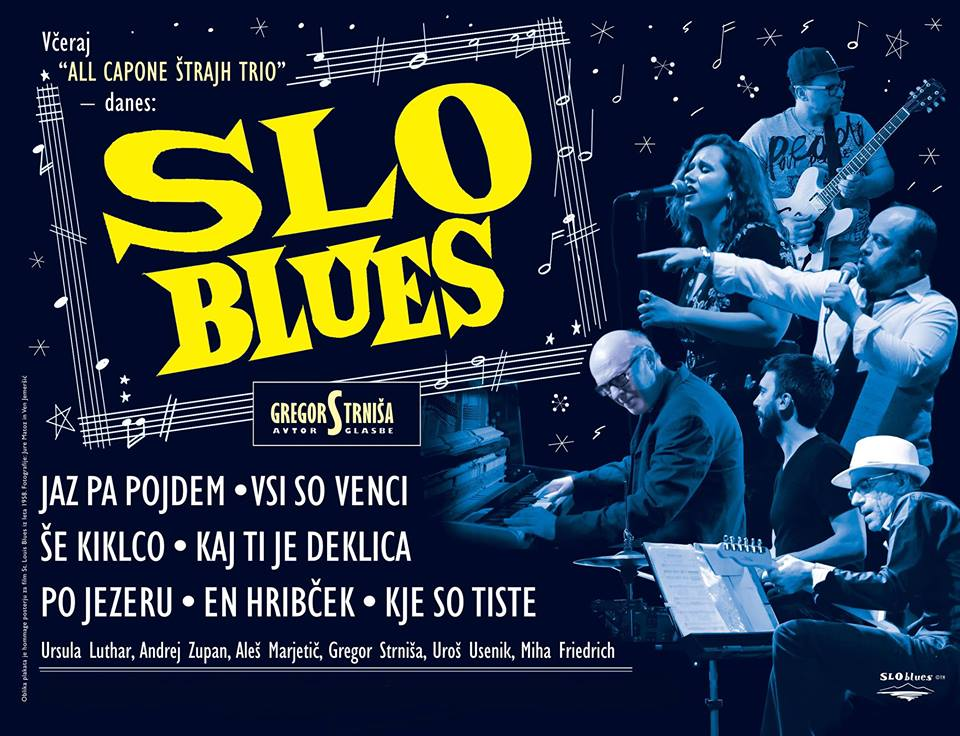 Slo Blues - Slovenske ljudske pesmi v blues preobleki