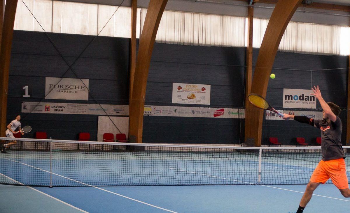 Državna univerzitetna prvenstva v športih z loparji 2018-19: tenis -moški